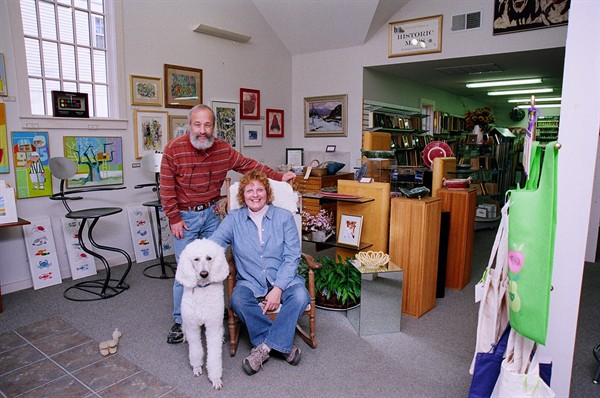 David, Frimma and Falcor in our Gallery